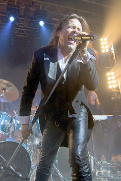 Andre Matos, original lead singer of the band