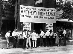 Anti-Evolution League at the Scopes Trial