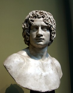 This Roman sculpture of a young man is sometimes identified as Arminius[26]