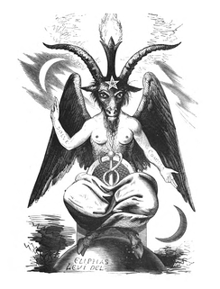 "Eliphas Levi's image of Baphomet is embraced by LaVeyan Satanists as a symbol of duality, fertility, and the ""powers of darkness"", serving as the namesake of their primary insignia, the Sigil of Baphomet.[216]"