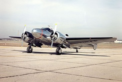 Beech 18/C-45 at the National Museum of the United States Air Force