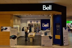 A Bell Store in The Promenade Shopping Centre, Thornhill, Ontario