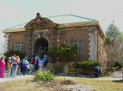 Exterior of the Belle Isle Aquarium