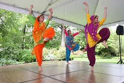 Bhangra dance on Vaisakhi is a Sikh tradition