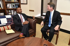 Scott meets with Judge Brett Kavanaugh in July 2018