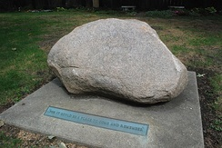 Remembrance Rock gravesite