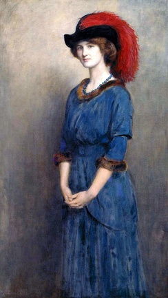 Angela McInnes by Collier, 1914