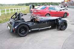 Dala 7, is a sevenesque kit-car made in Stora Skedvi, close to Säter in Dalarna.