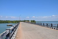 Dalavapuram bridge near Kollam City - This bridge had given a new way of connectivity for the people of Dalavapuram with Kollam City along with the existing boat services.