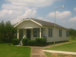 Rather's boyhood home being restored at the Wharton County Museum