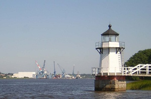 Doubling Point Light and Bath Iron Works