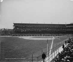 Forbes Field in its early years.