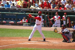 Griffey played in his hometown of Cincinnati from 2000–2008.