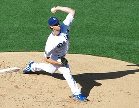 Example of Kershaw's stride and deception