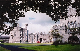 Kilkenny Castle. The Irish Confederate capital of Kilkenny fell to Cromwell in 1650.