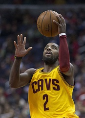 Kyrie Irving was selected first by the Cleveland Cavaliers