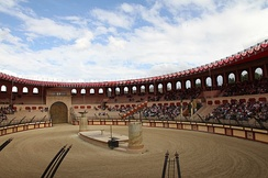 The Roman amphitheatre at the Puy du Fou theme park hosted the team presentation ceremony on 30 June.