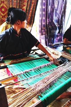 One of the unique traditional crafts from Lombok