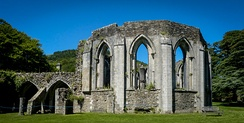 Margam Abbey ruins chapter house