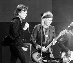 Rolling Stones' second appearance at Hyde Park on 6 July 2013. Their first appearance was on  5 July 1969.