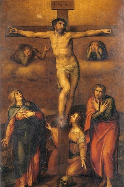 Michelangelo: Crucifixion of Christ, 1540