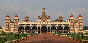 Mysore Palace built between 1897 and 1912