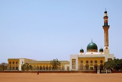 A mosque in Niamey