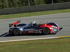 An American LMPC class competitor, the Dempsey Racing Oreca FLM09-Chevrolet at the 2012 Petit Le Mans