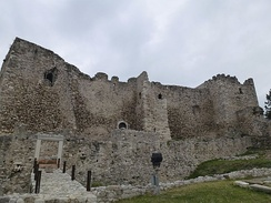 View of the Patras Castle, built during the Byzantine era.