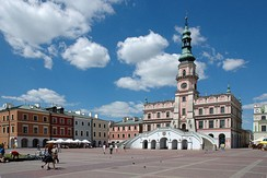 The Old City of Zamość is a UNESCO World Heritage Site.