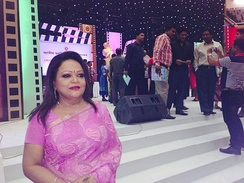 Sabina Yasmin, a leading Bangladeshi playback singer since the 1970s