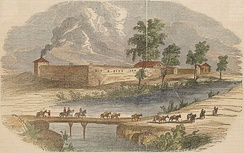 Frémont's second expedition party reached Sutter's Fort in the Sacramento Valley in March 1844