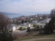 Thalwil and Lake Zurich