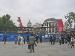 The day after the fire, 21 May 2007