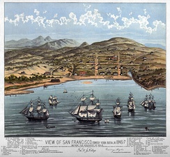 View of San Francisco 1846–47