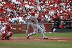 Jayson Werth batting