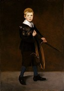Boy Carrying a Sword, 1861