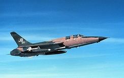 17th WWS Republic F-105G, AF Ser. No. 63-8316.