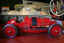 1910 Buick Bug Race Car and 1944 M18 Buick Hellcat tank destroyer