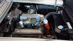 Fuel injected 283 cu in (4.6 L) engine installed in a 1959 Corvette