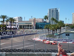Dan Wheldon Way during the 2012 Honda Grand Prix of St. Petersburg