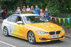 The 320d Efficient Dynamics at the 2012 London Olympics