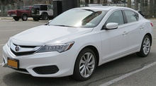 2016 Acura ILX, updated model