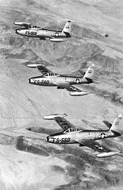 F-84s as flown by the group