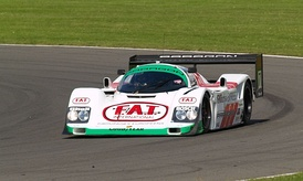 Joest Racing's Porsche 962 which they used in the IMSA GT Championship.