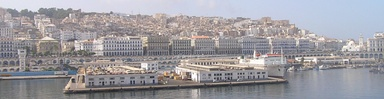 Algiers waterfront