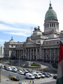 The Palace of the National Congress of Argentina.
