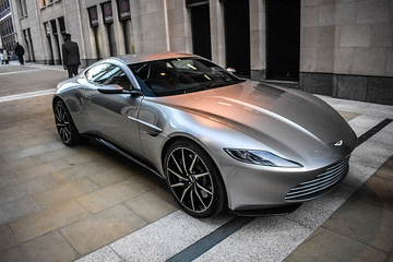 The front view of the DB10