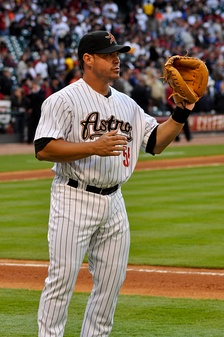 Quintero during his tenure with the Houston Astros in 2009