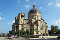 St. Josaphat Basilica, in Milwaukee's historic Lincoln Village.